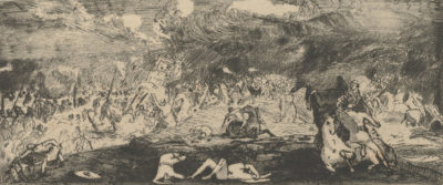 Odilon Redon Battle (Bataille)