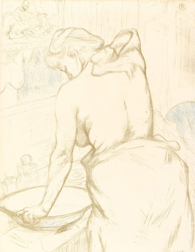 Henri de Toulouse-Lautrec Woman at her toilet