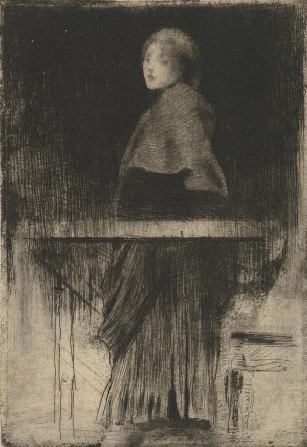 Albert Besnard Woman with a Cape (La femme à la pèlerine)