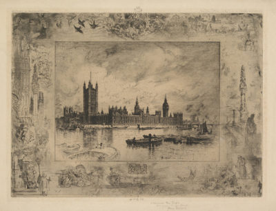 Camille Pissarro Westminster Palace