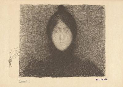 Henri Jean Guillaume Martin Woman (Femme)