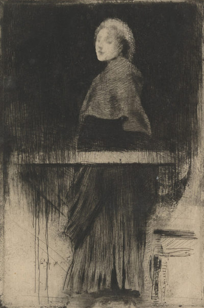 Albert Besnard Woman with a Cape (La femme à la pèlerine)