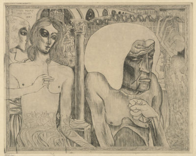 Jan Toorop Woman's Youth and Old Age (Jeugd en ouderdom der vrouw)