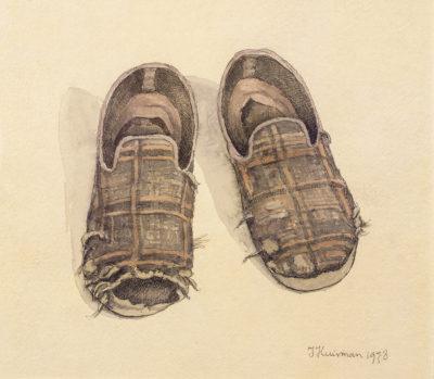 Efkes Thûs De pantoffels van de schilder 1978