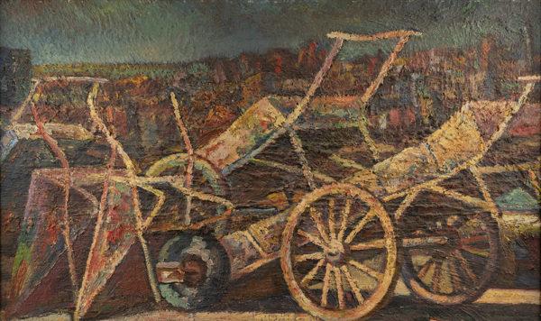 Efkes Thûs Handkarren en kruiwagens 1964