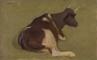Efkes Thûs Liggende koe 1952