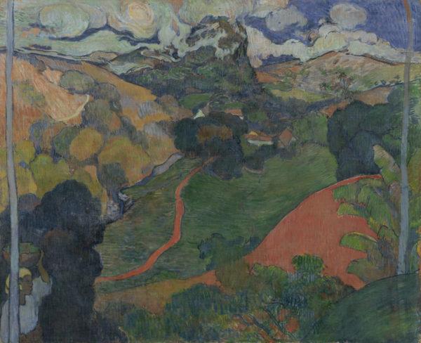 Paul Gauguin Landscape on Martinique