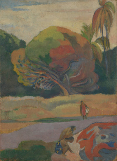 Paul Gauguin Women on the Banks of the River