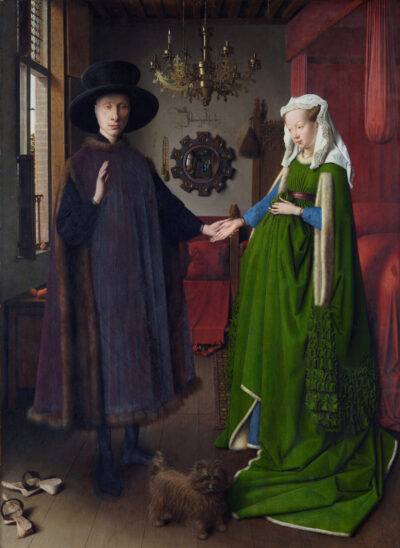 Jan van Eyck Arnolfini Wedding